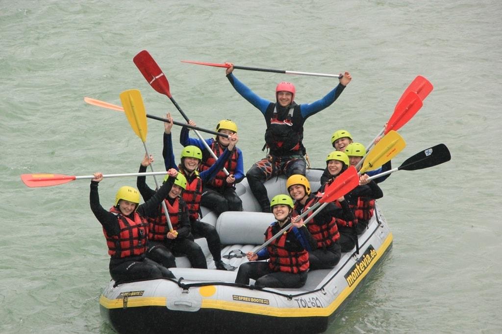 Teamfoto Photogenika Rafting